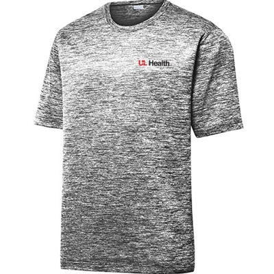 ULH123/ST390<br>Sport Tek Mens Electric Heather Performance Tee